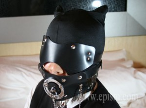 耳つきマスク